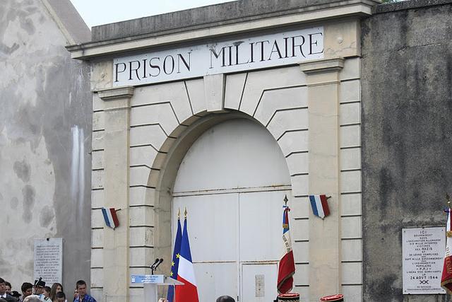 Lyon : cérémonie du 71e anniversaire de la libération de la prison de Montluc