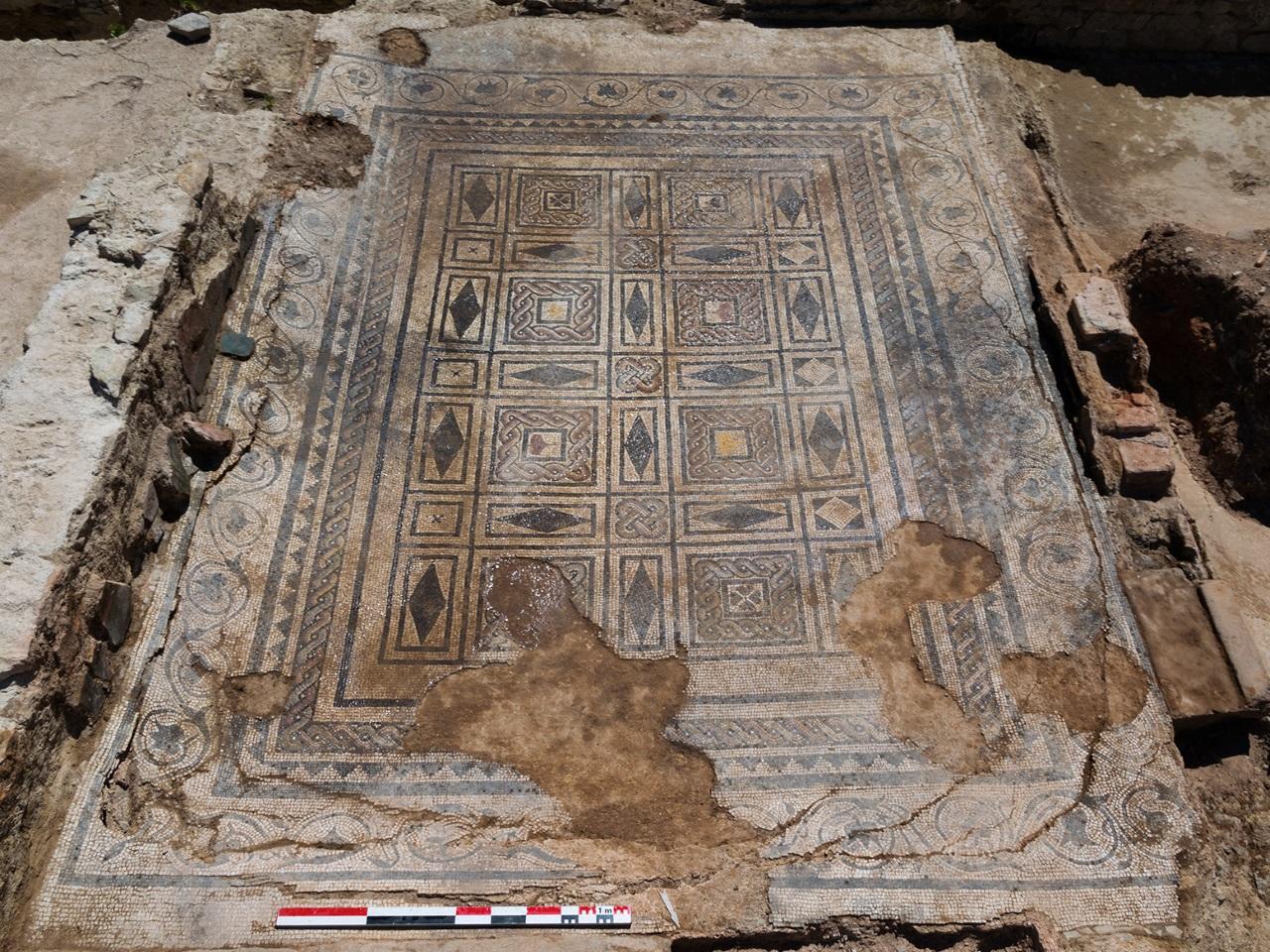 L'une des mosaïques du site - DR David Baldassari / Archeodunum