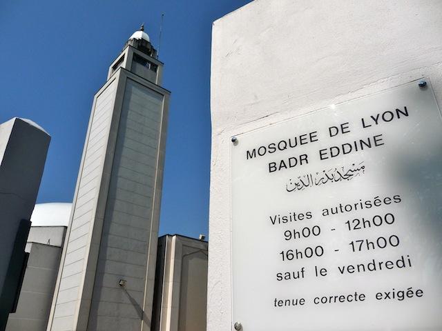 La mosquée de Lyon - Photo Lyonmag.com