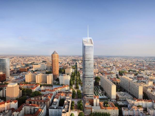 Lyon Part-Dieu : le chantier de la Tour Incity va pouvoir commencer
