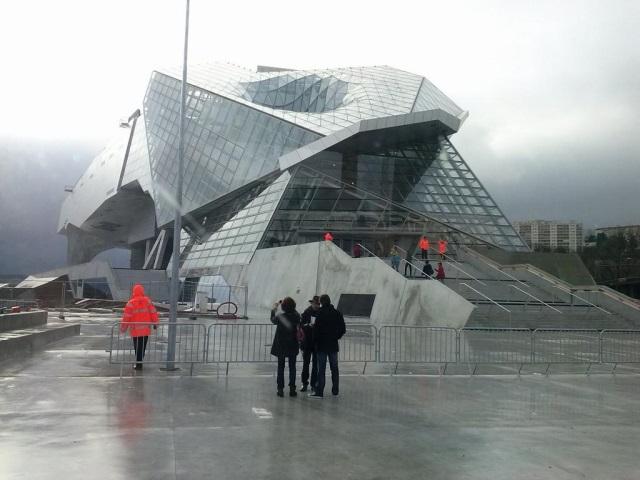 Le musée des Confluences est fermé jusqu'à vendredi pour travaux