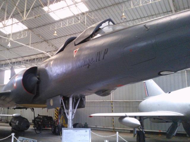 Musée de l'aviation de Corbas : le Mirage IV classé monument historique