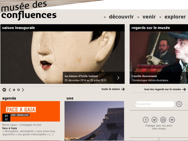 """Le site internet du Musée des Confluences piraté par des """"cyberjihadistes"""""""