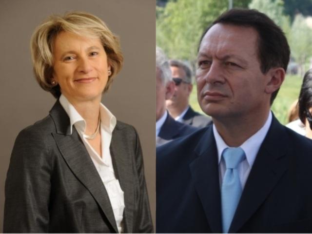 Dominique Nachury et Thierry Braillard, les nouveaux députés lyonnais - DR