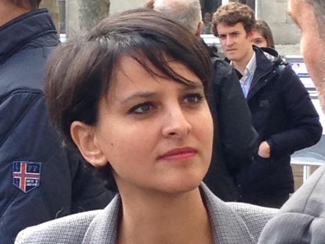 Depuis Lyon, Najat Vallaud-Belkacem défend la laïcité à l'école
