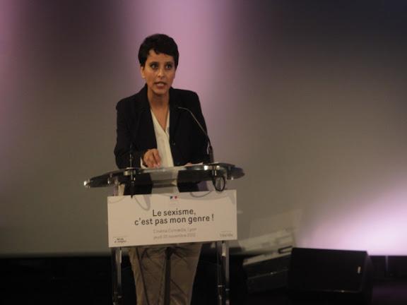Najat Vallaud-Belkacem réclame l'égalité pour les Braqueuses
