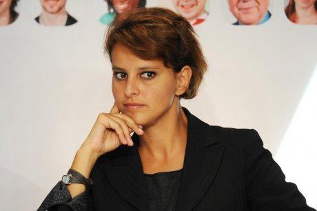Najat Vallaud-Belkacem dans la Matinale d'iTélé mardi matin