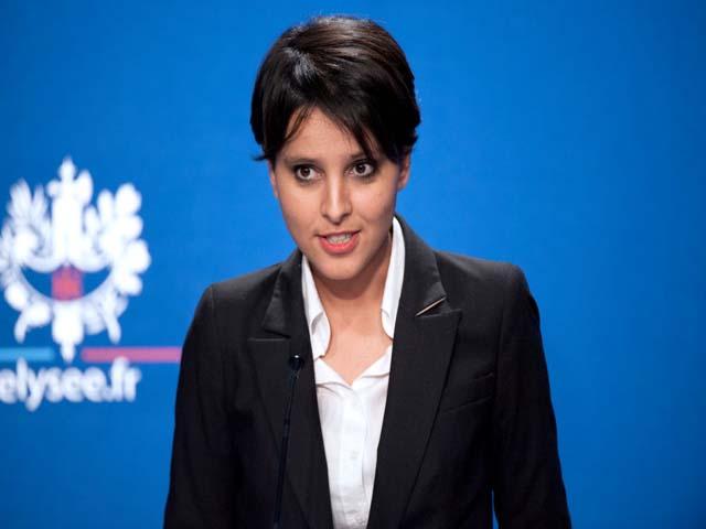 Najat Vallaud-Belkacem, dans son rôle de porte-parole du gouvernement - DR
