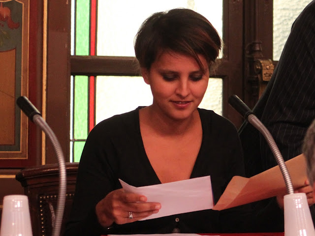 "Najat Vallaud-Belkacem est ""triste"" pour l'UMP"