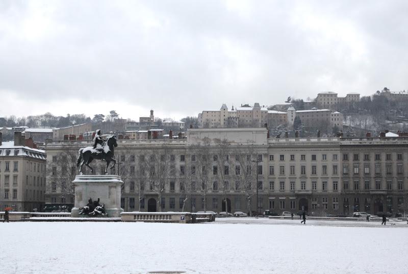 Grand Lyon : la neige va faire son retour cette nuit