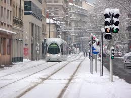 Vague de froid record à Lyon