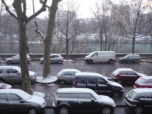 La neige et le froid arrivent à Lyon lundi !