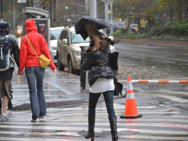 Récit d'une Lyonnaise coincée à New York en pleine tempête