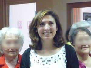 Nora Berra rend visite aux personnes âgées à Villeurbanne