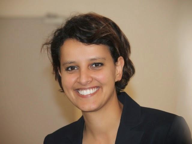 Najat Vallaud-Belkacem se félicite de l'adoption du projet de loi pour l'égalité homme-femme