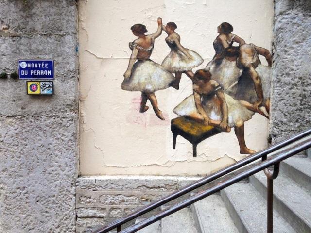 Lyon : les œuvres du Musée des Beaux Arts  exposées en pleine rue !