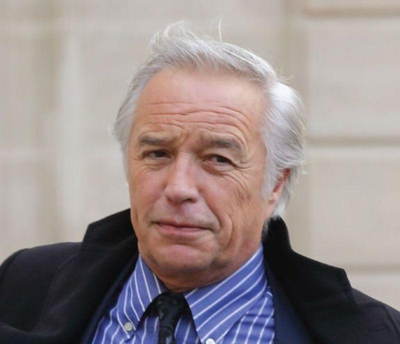 François Rebsamen en déplacement à Lyon ce lundi