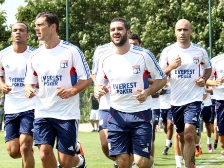 L'OL à l'entrainement - Photo Lyonmag.com