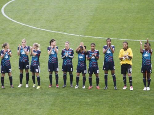 Les filles de l'OL ont brillé en équipe de France