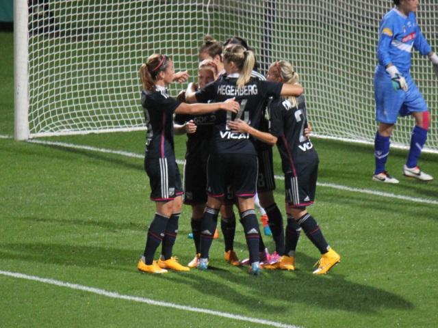 D1 Féminin : Victoire de l'OL féminin contre Guingamp (4-0)