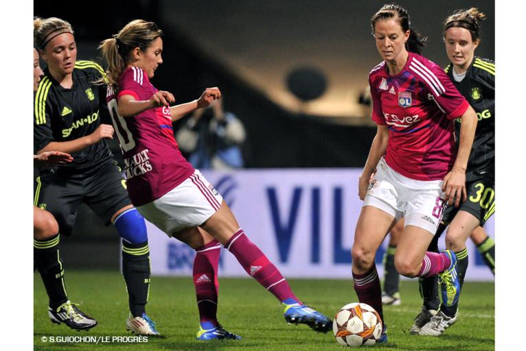 Les filles de l'OL en demi-finale de la Ligue des Champions