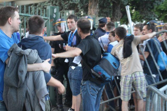 OL : les supporters de Zürich provoquent quelques débordements