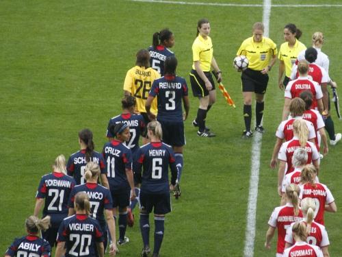 Les filles de l'OL joueront la finale de la coupe de France samedi