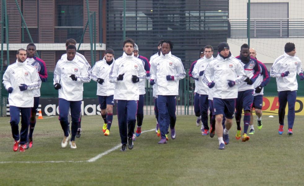survetement Olympique Lyonnais Entraînement