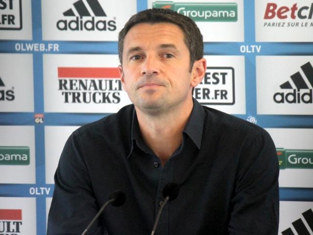 Rémi Garde en conférence de presse - Photo Lyonmag.com