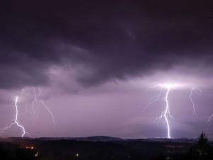 Lyon dans le Top 5 des villes les plus orageuses de France