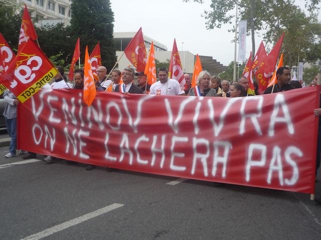 Veninov: journée d'action mercredi