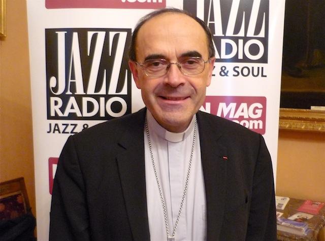 """Mgr Barbarin : """"Hausse des dons au diocèse de Lyon ? Enfin on peut faire des travaux"""""""