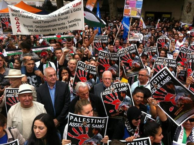 Une nouvelle manifestation de soutien au peuple palestinien ce mercredi à Lyon