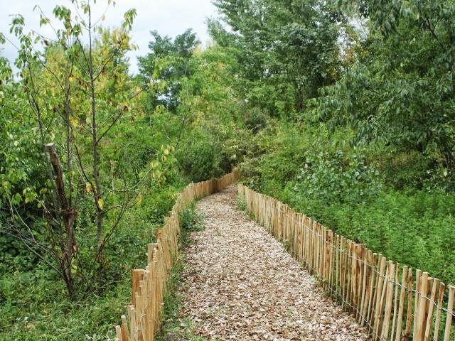 Parc Sergent Blandan : 17 hectares d'inconnu ouverts aux Lyonnais