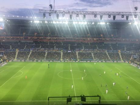 Lyon/Troyes en tête des affluences de Ligue 1 grâce au Parc OL