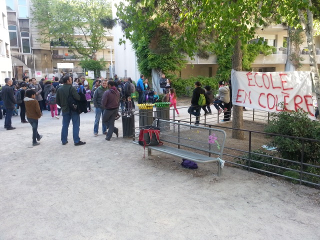 Fin de la trêve hivernale à Lyon : les parents d'élèves se mobilisent pour les enfants à la rue