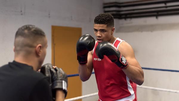 Boxe : Paul Omba Biongolo devient champion d'Europe des moins de 22 ans