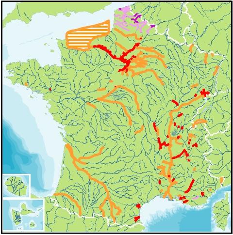 Atlas des sites aquatiques pollués aux PCB - DR Robin des Bois - Avril 2013