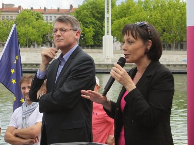 Meeting du Parti Socialiste à Villeurbanne : la police sur le qui-vive