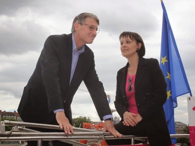Vincent Peillon et Sylvie Guillaume - LyonMag
