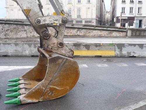 Lyon 8e : Circulation difficile pendant trois jours sur l'avenue des Frères Lumière