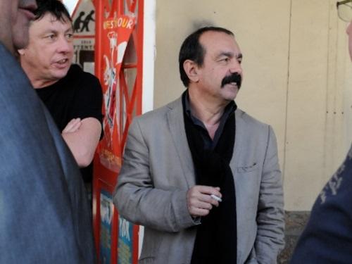 Philippe Martinez (CGT) a rencontré le personnel du Vinatier