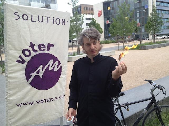 """Législatives à Lyon: Marc Chinal veut """"bâtir une nouvelle civilisation"""""""