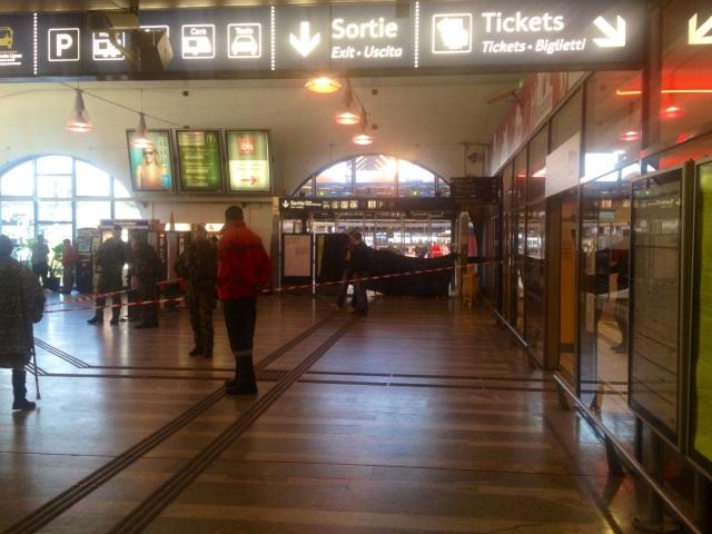 Lyon : une personne décède sur la passerelle de la gare de Perrache
