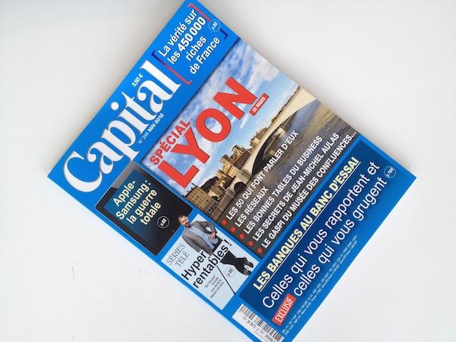 Le mensuel Capital se penche sur les 50 Lyonnais qui font parler d'eux