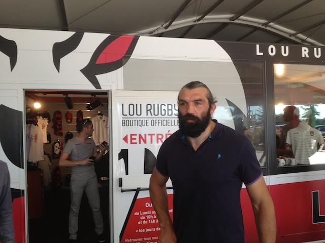 Sébastien Chabal plaque le rugby