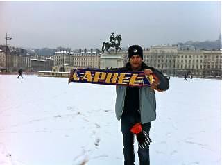 Ligue des Champions : les supporters de Nicosie prêts à braver la neige !