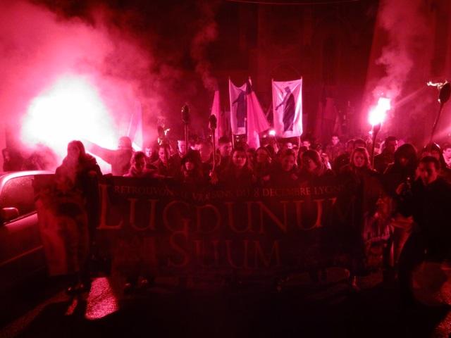 La procession des identitaires - LyonMag