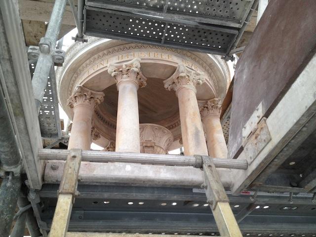 La fontaine des Jacobins fait une cure de jouvence (diaporama)