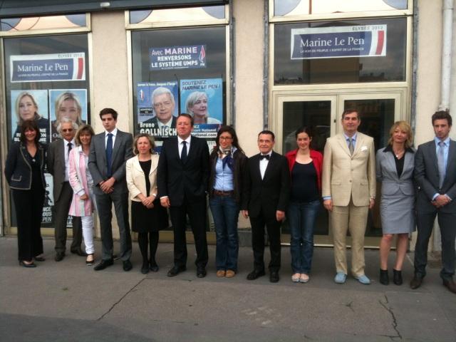"""Législatives : le FN a """"de réelles chances"""" dans 6 ou 7 circonscriptions du Rhône"""